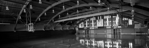Quincy Michigan High School Gym